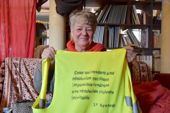 Michèle, militante depuis Mai68